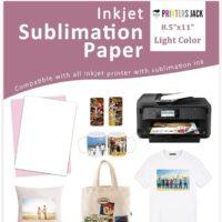 Printers jack sublimation paper